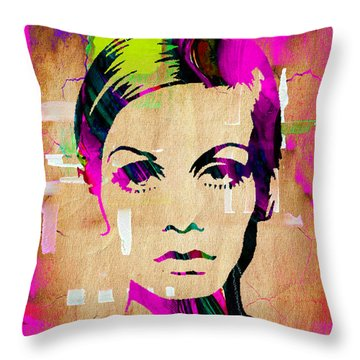 Twiggy Collection Throw Pillow