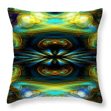 609 - Lucid Infinity .... Throw Pillow