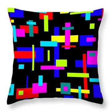 Throw Pillow featuring the photograph 60's Jazz by Mark Blauhoefer
