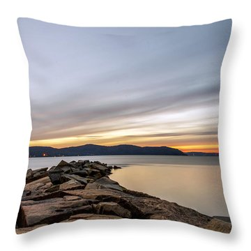 Throw Pillow featuring the photograph 60secs Of Light by Anthony Fields