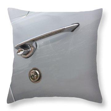 61 Corvette-grey-door Handle-9268 Throw Pillow by Gary Gingrich Galleries
