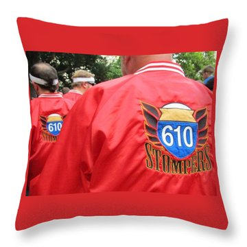 610 Stompers - New Orleans La Throw Pillow
