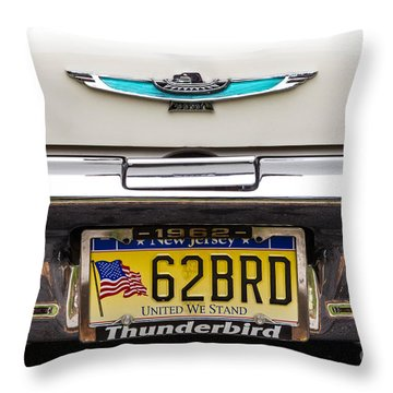 62 Brd Throw Pillow