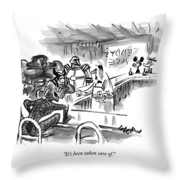 New Yorker September 14th, 2009 Throw Pillow