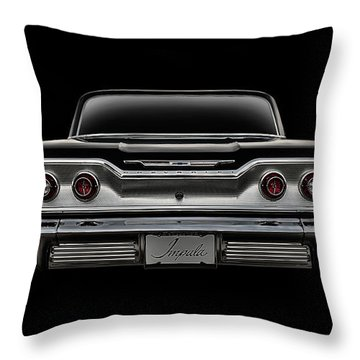 '63 Impala Throw Pillow