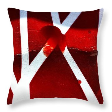 Bloodlines  Throw Pillow by Jason Michael Roust