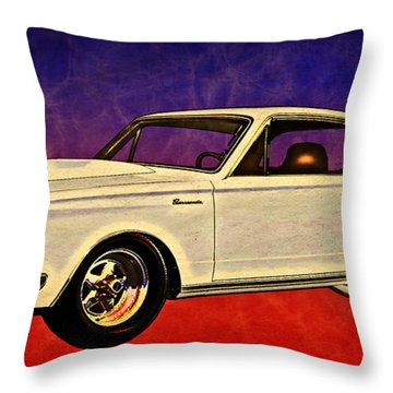 64 Barracuda The Baddacuda Street Racer Throw Pillow