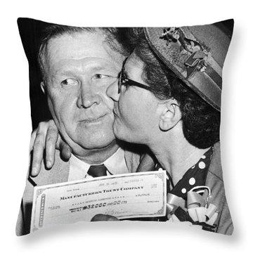 64000 Dollar Question 1955 Throw Pillow by Granger