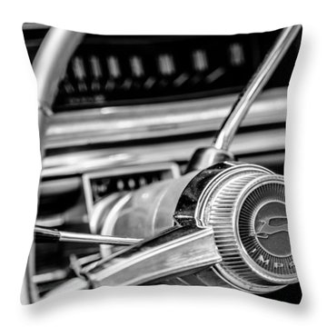 65 Impala Throw Pillow