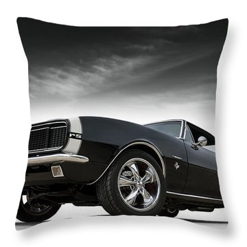 '67 Camaro Rs Throw Pillow