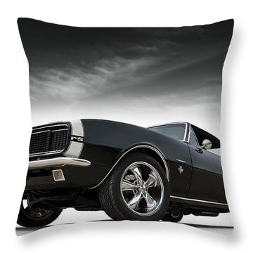 Classic Muscle Cars Throw Pillows