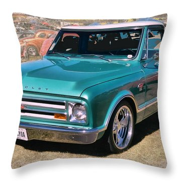 '67 Chevy Truck Throw Pillow
