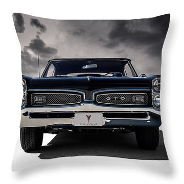 '67 Gto Throw Pillow