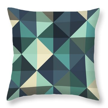Pixel Art Throw Pillow