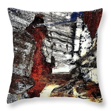 Abstract Post 4 Throw Pillow by Jason Michael Roust