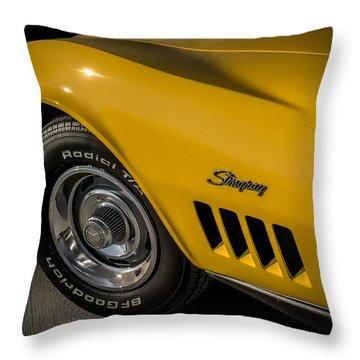 '69 Stinger Throw Pillow