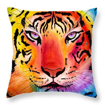 6983 Tiger Throw Pillow