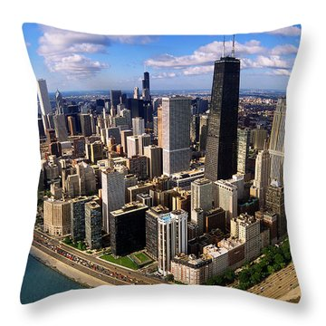 Chicago Il Throw Pillow by Panoramic Images