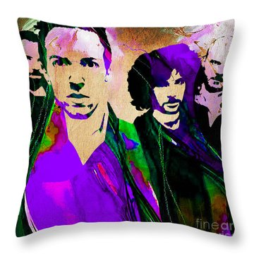 Coldplay Collection Throw Pillow