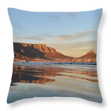 Good Morning Cape Town Throw Pillow