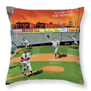New Yorker September 22nd, 2008 Throw Pillow
