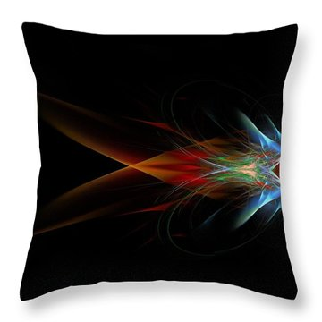 What Do You See Throw Pillow by Bruce Nutting