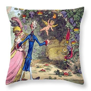 William Pitt (1759-1806) Throw Pillow