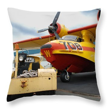 708 Throw Pillow