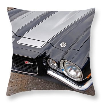71 Camaro Z28 Throw Pillow