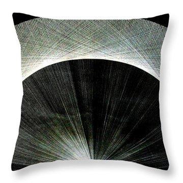 720 Pi Half Rainbow Throw Pillow