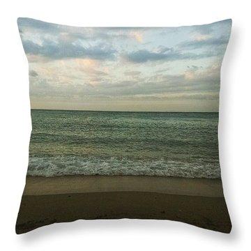 Beach Daze Throw Pillow
