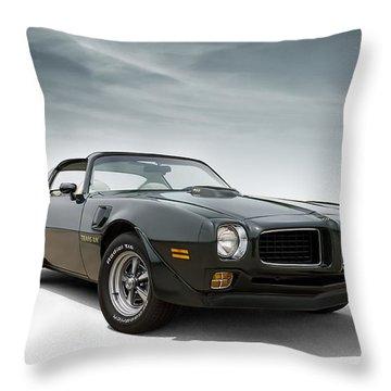 '73 Trans Am Throw Pillow