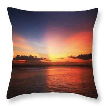 Mystical Evenings  Throw Pillow