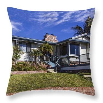 755 Sunset Cliffs Boulevard Throw Pillow