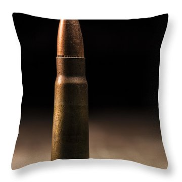 7.62 X 39mm Throw Pillow