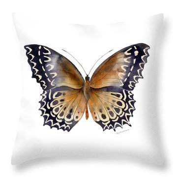 77 Cethosia Butterfly Throw Pillow
