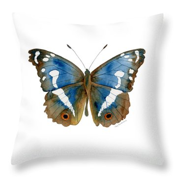 78 Apatura Iris Butterfly Throw Pillow
