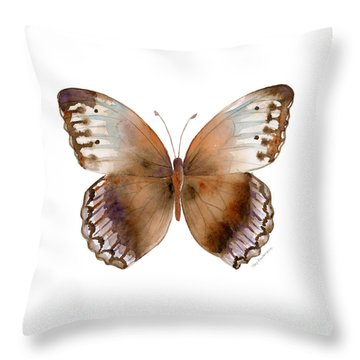 79 Jungle Queen Butterfly Throw Pillow