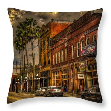 7th Avenue Throw Pillow by Marvin Spates