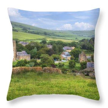 Abbotsbury Throw Pillow by Joana Kruse