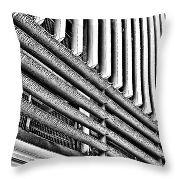 Car Park 2 Throw Pillow