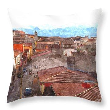 Arzachena Paesaggio Throw Pillow