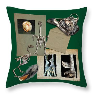 8. Chook Parts Throw Pillow