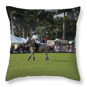 International Polo Club Throw Pillow