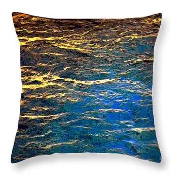 Light On Water Throw Pillow by Dale   Ford