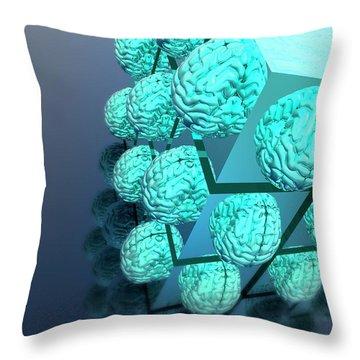 Biomedical Engineering Throw Pillows