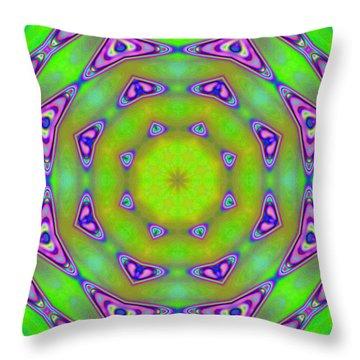 Pattern 21 Throw Pillow