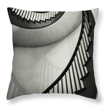 Spiral Throw Pillows