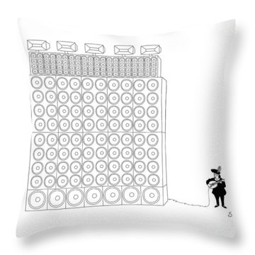 New Yorker January 16th, 2017 Throw Pillow