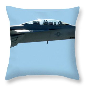 Usmc Fa18 Hornet Throw Pillow